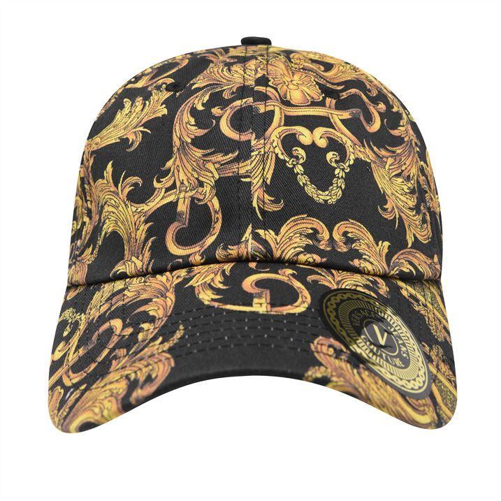 All Over Baroque Print Cap