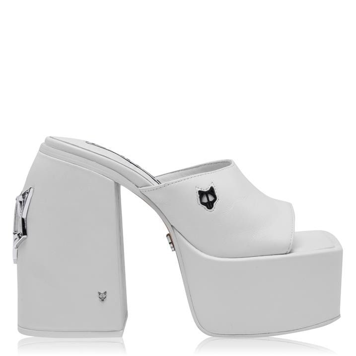 Jenna Mule Heeled Sandals