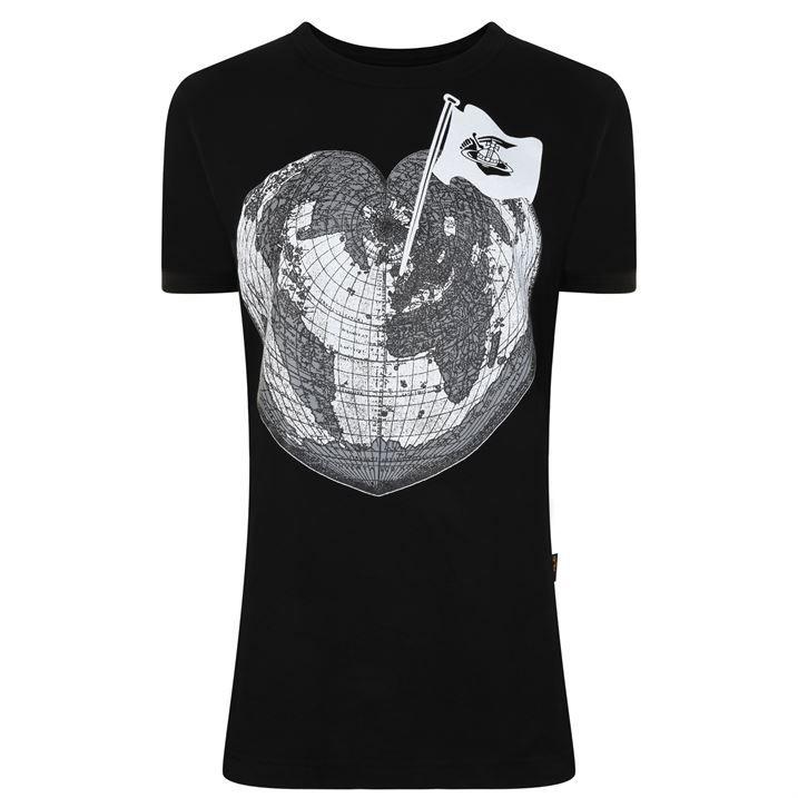 Heart World T Shirt