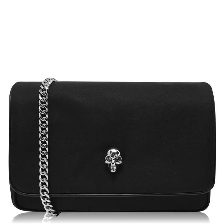 Skull Nylon Shoulder Bag