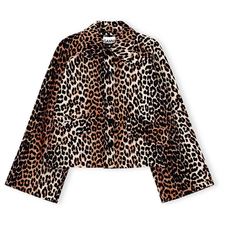 Ganni Linen Jacket Ld14
