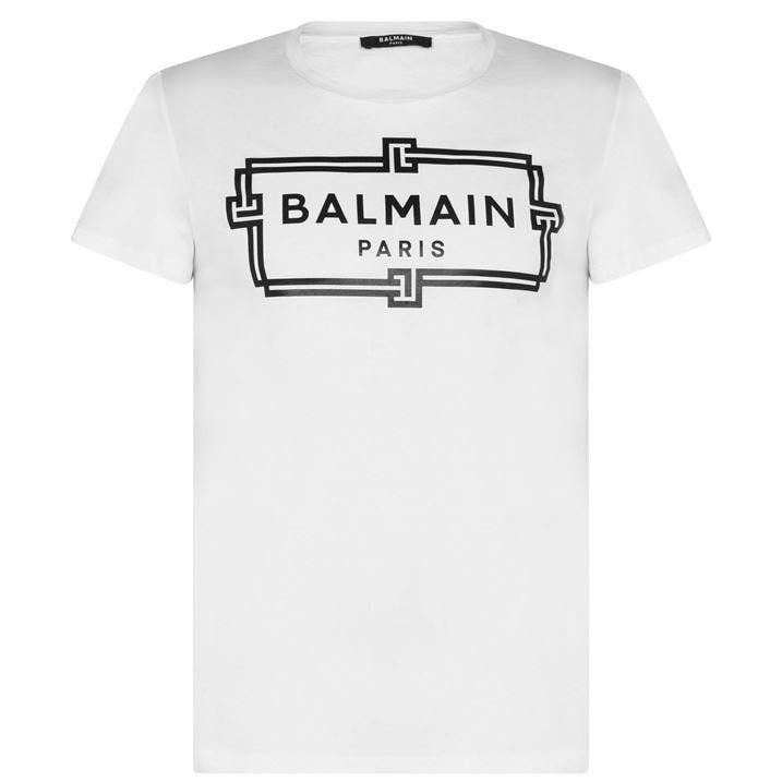 Balmain Box Logo Tee