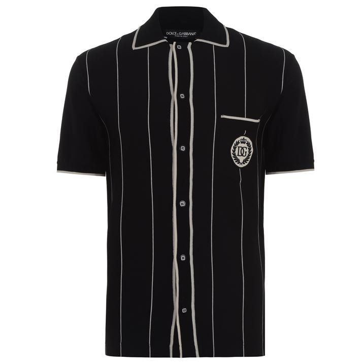 Button Up Polo Shirt