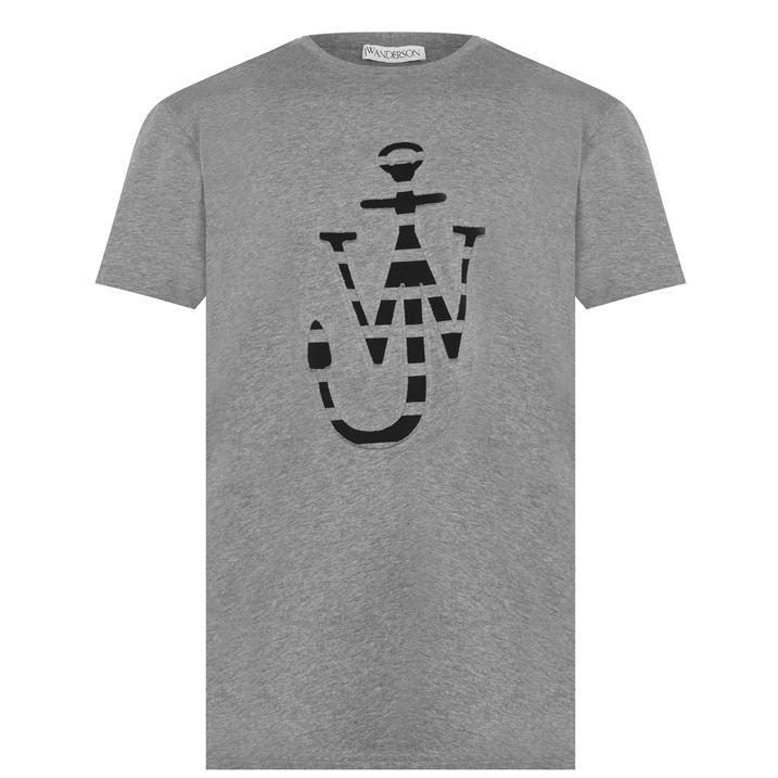 Lasercut Logo T Shirt