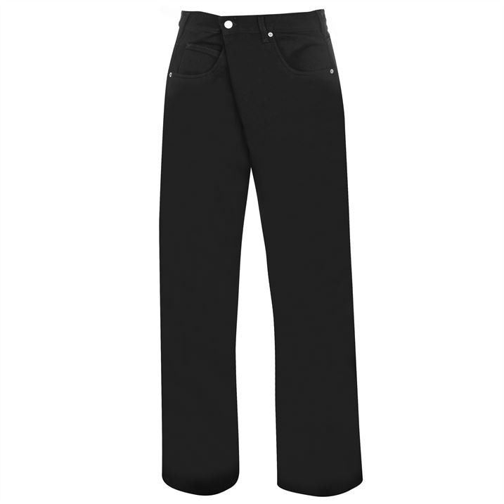 Jw Anderson Fold Front Jeans
