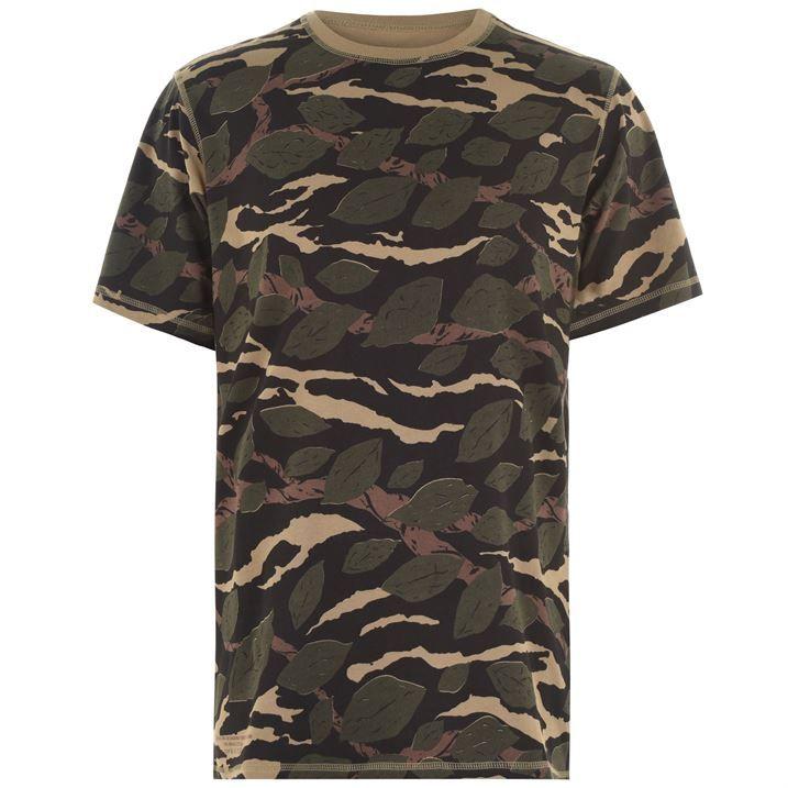 Camo Reverse T Shirt