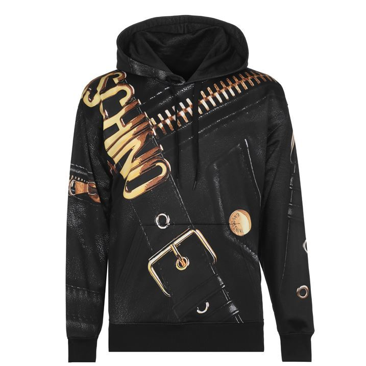 Gold Zip Hoodie