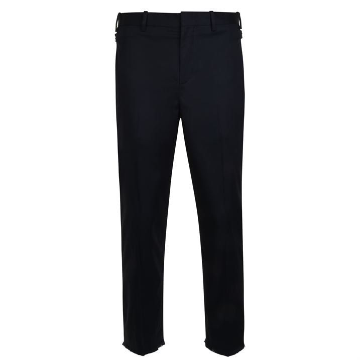 Frayed Hem Trousers