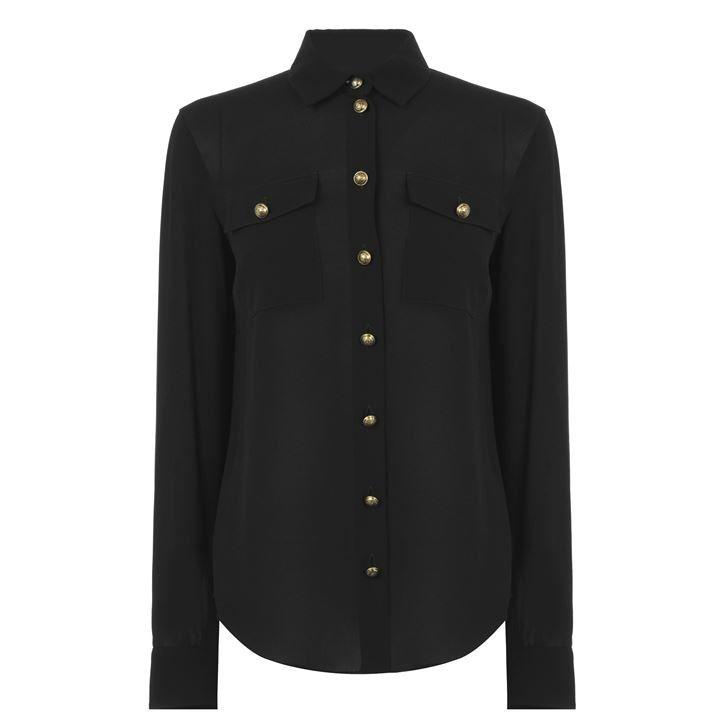 Georgette Long Sleeve Shirt