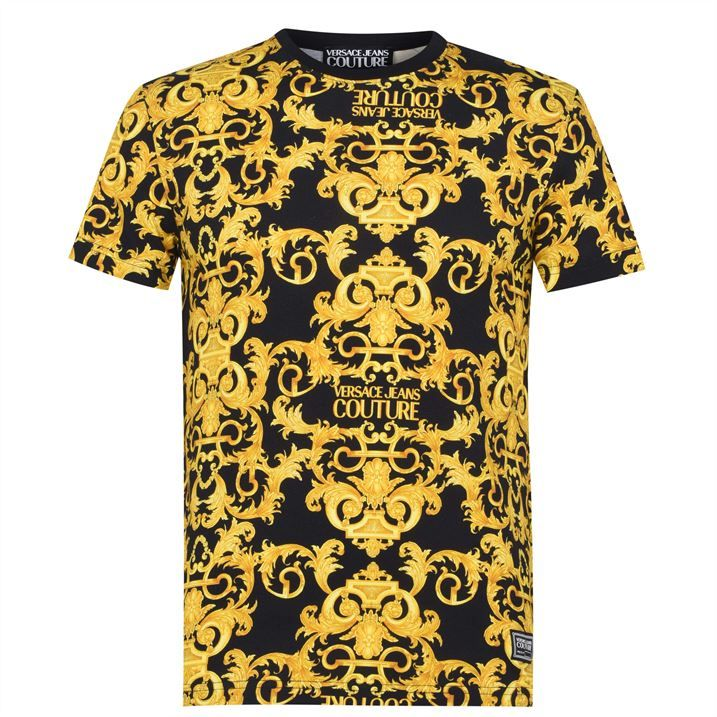 All Over Baroque T Shirt