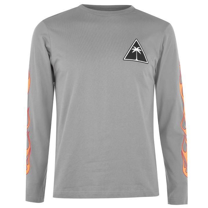 Flames Long Sleeve T Shirt