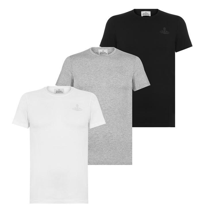 3 Pack Logo T Shirts