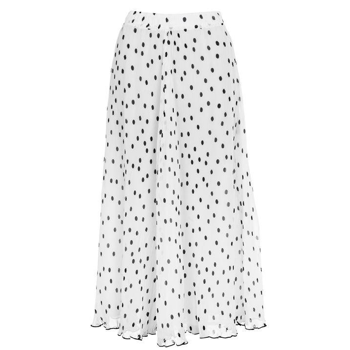 Polka Maxi Skirt