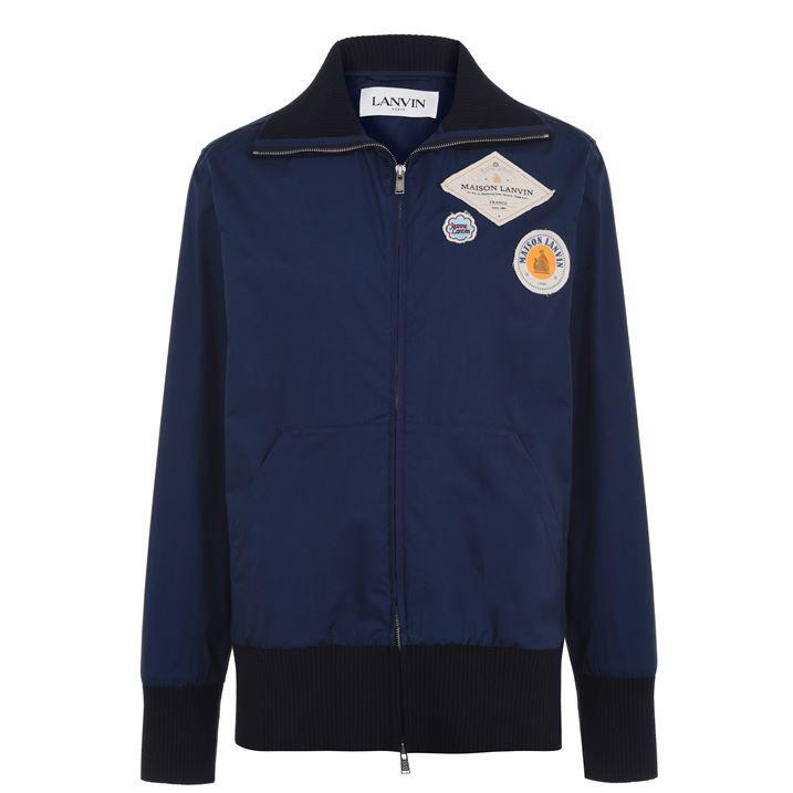 Lanvin Badge Bomber Jacket