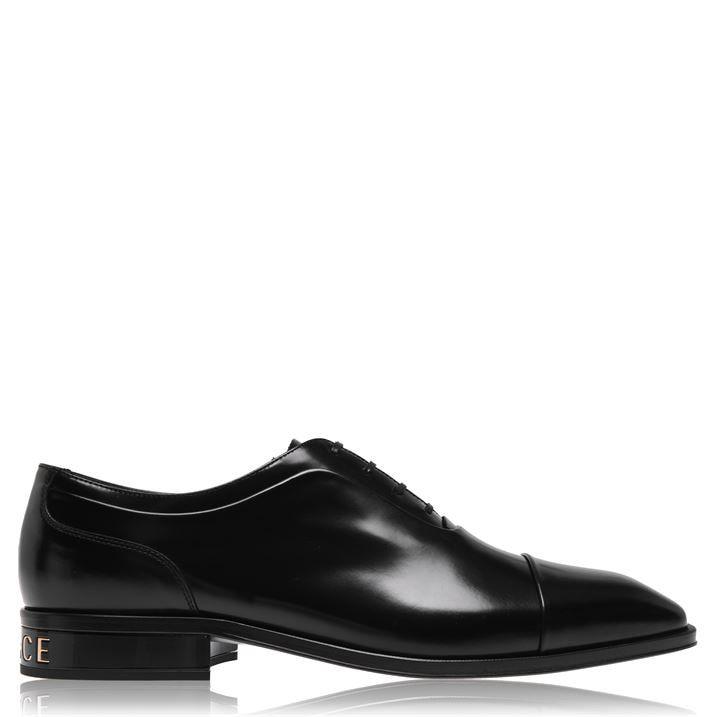 V Heel Lace Up Smart Shoes