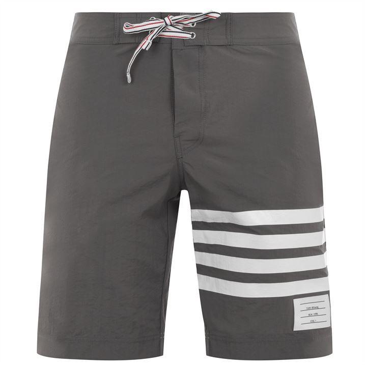 Snap Front Swim Shorts