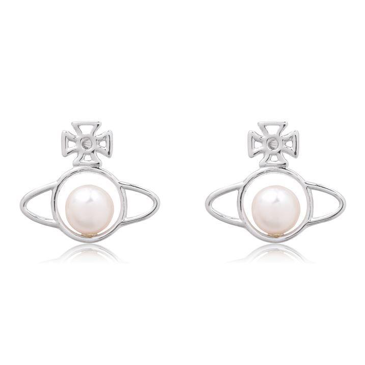 Pearl Orb Earrings