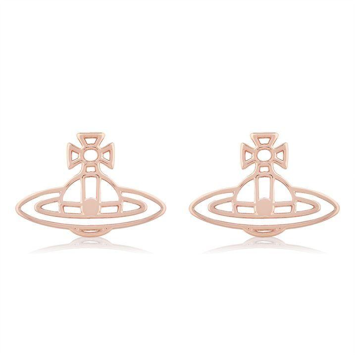 Flat Orb Studded Earrings