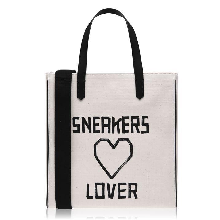 Sneakers Love Tote Bag