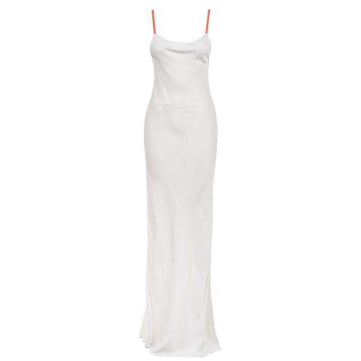 Heron Satin Dress Ld02
