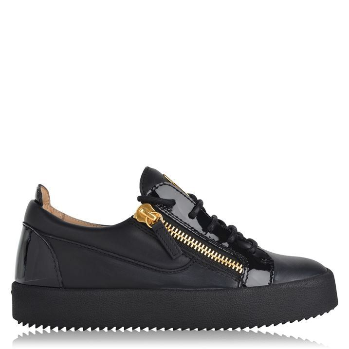 May Leather Low Top Trainers