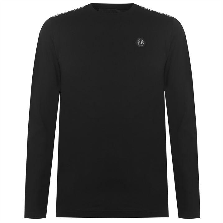 Tape Logo Long Sleeve T Shirt