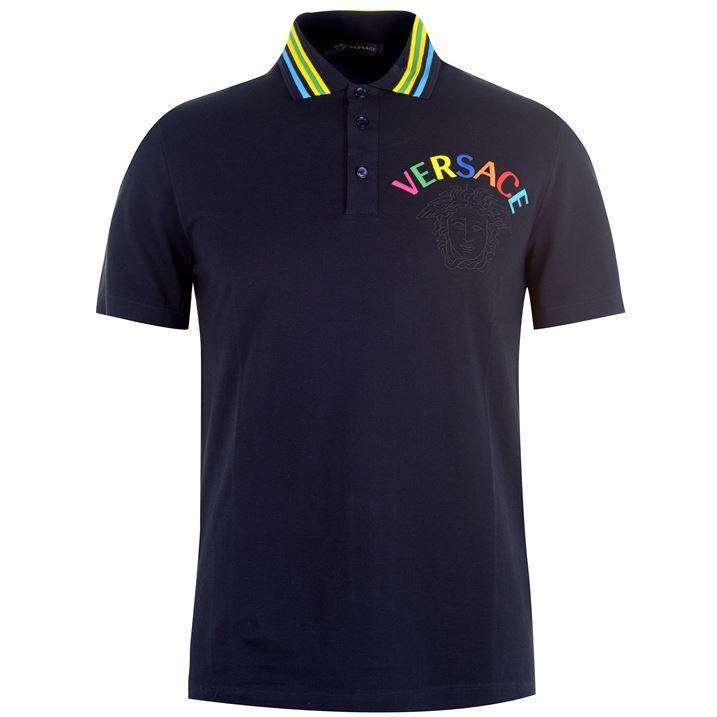 Multi Tonal Logo Polo Shirt
