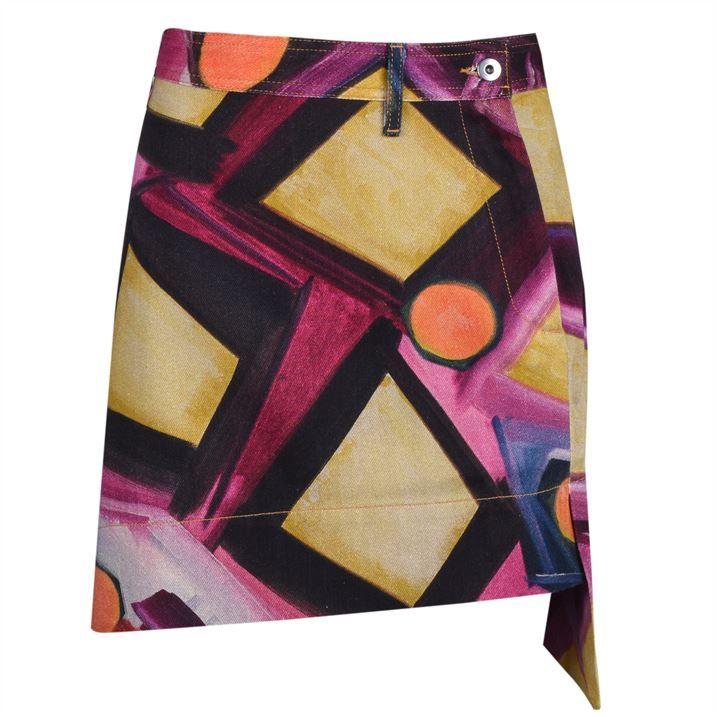 Infinity Print Skirt