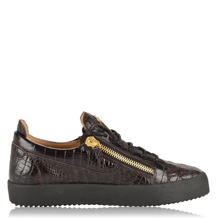 Crocodile Leather Trainers