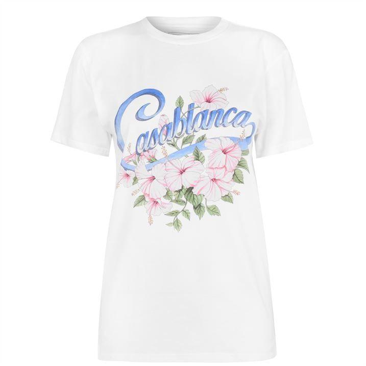 Casa Hibiscus T Shirt Ladies