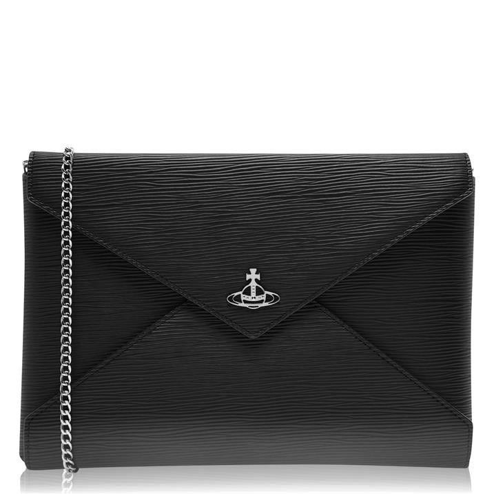 Vivienne Westwood Accessories Polly Envelope Chain Clutch