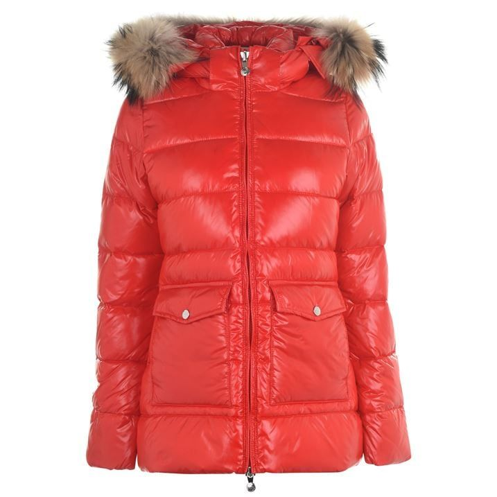 Shiny Fur Jacket