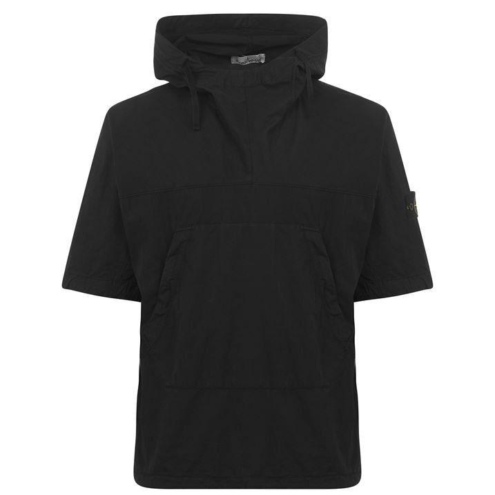 Short Sleeve Smock Jacket