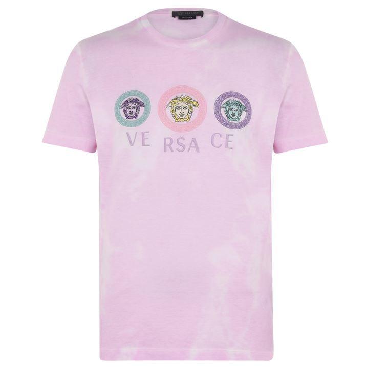 Versace Tie Dye T Shirt