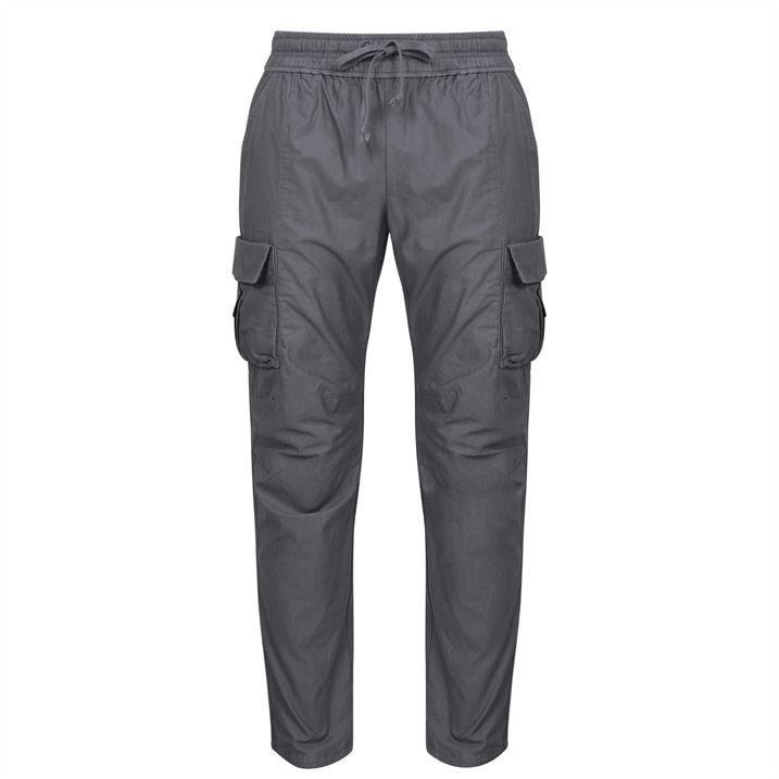 Sateen Cargo Pants