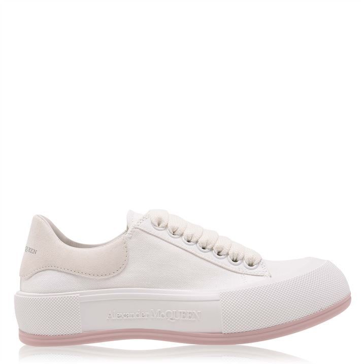Deck Lace Up Plimsoll Sneakers