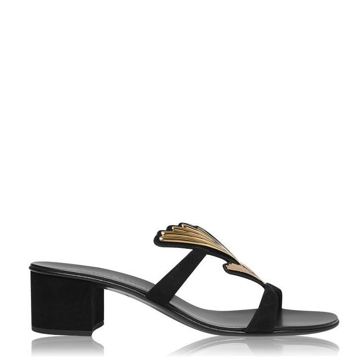 Cruel Roll 40mm Block Heeled Sandals