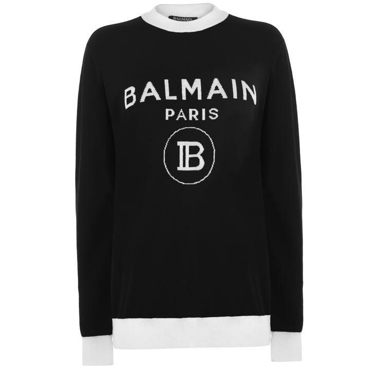 Balmain B Logo Knit Ld00