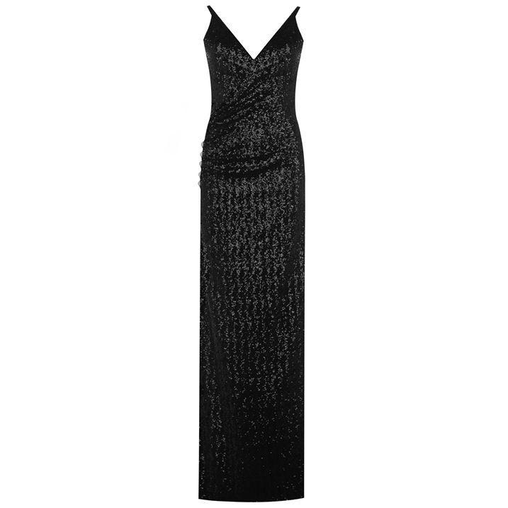 Balmain Sequine Strap Dress