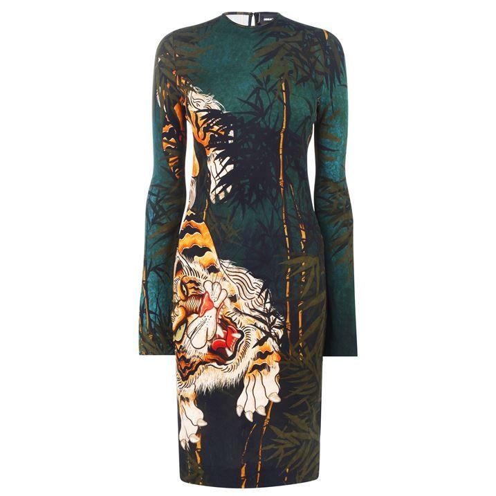 Tiger Midi Dress
