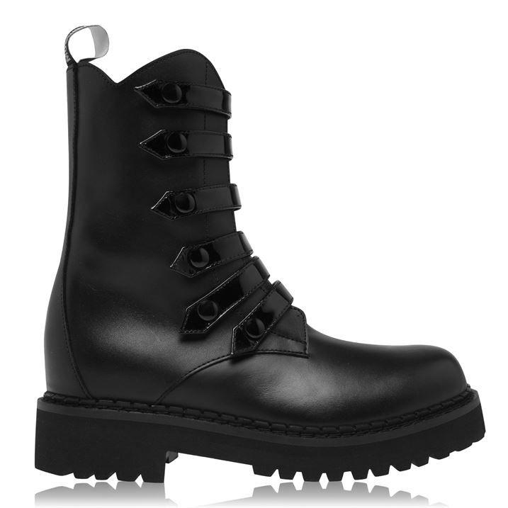 Biker Military Boots