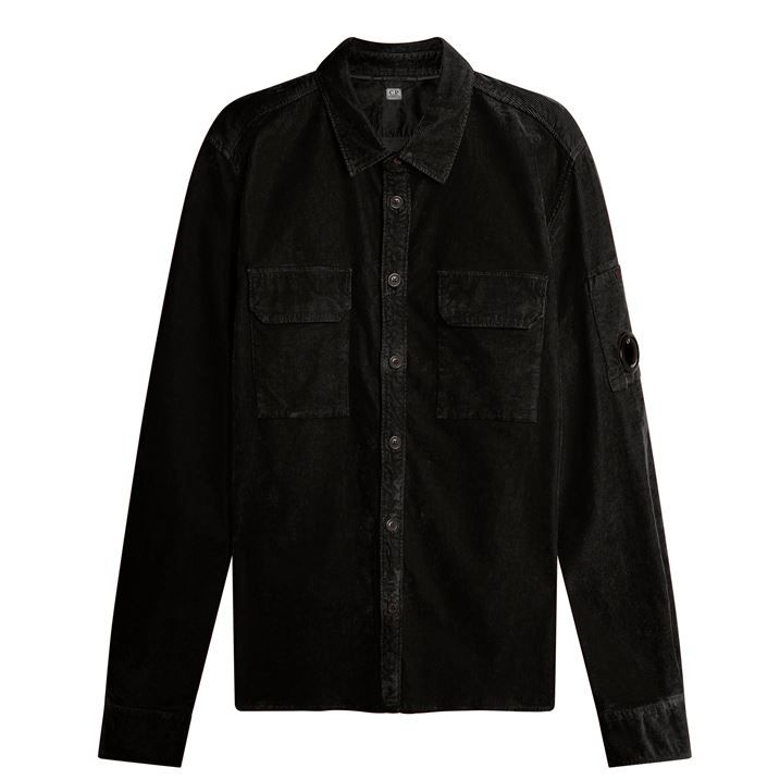 Buttoned Cord Shirt