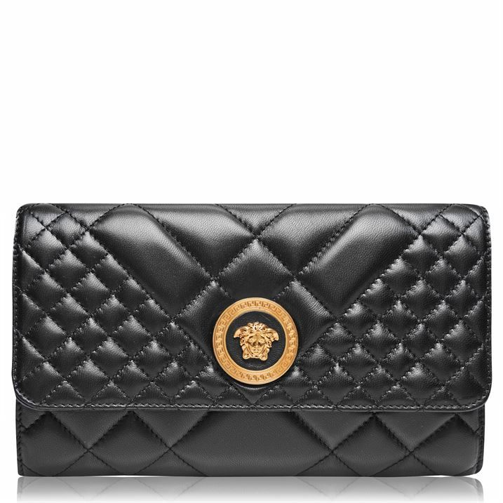 Quilted Medusa Evening Bag