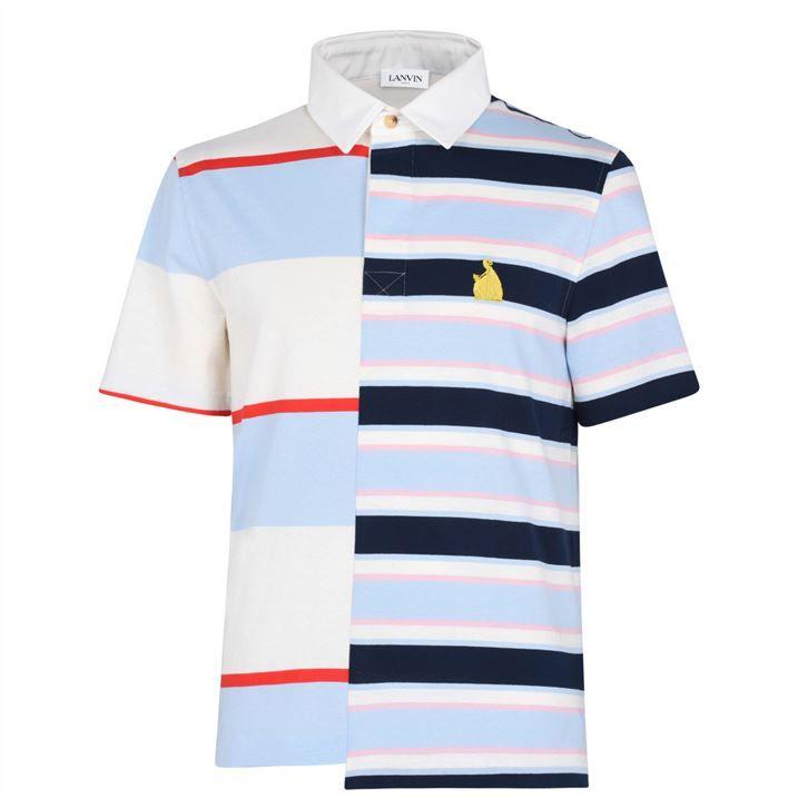 Mix Stripe Polo Shirt