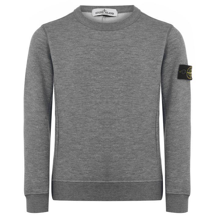 Junior Boys Marl Cotton Sweatshirt