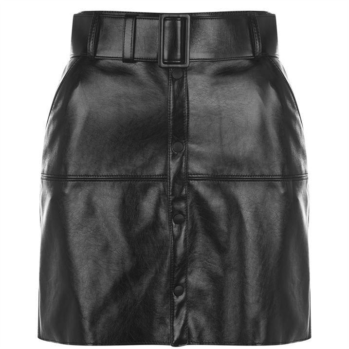 Msgm Belted Skirt