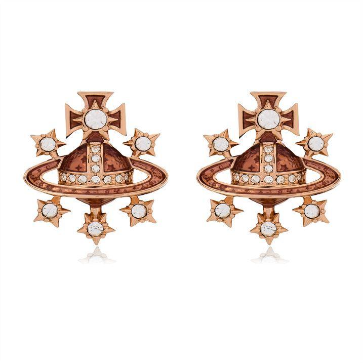 Dalila Bas Relief Earrings
