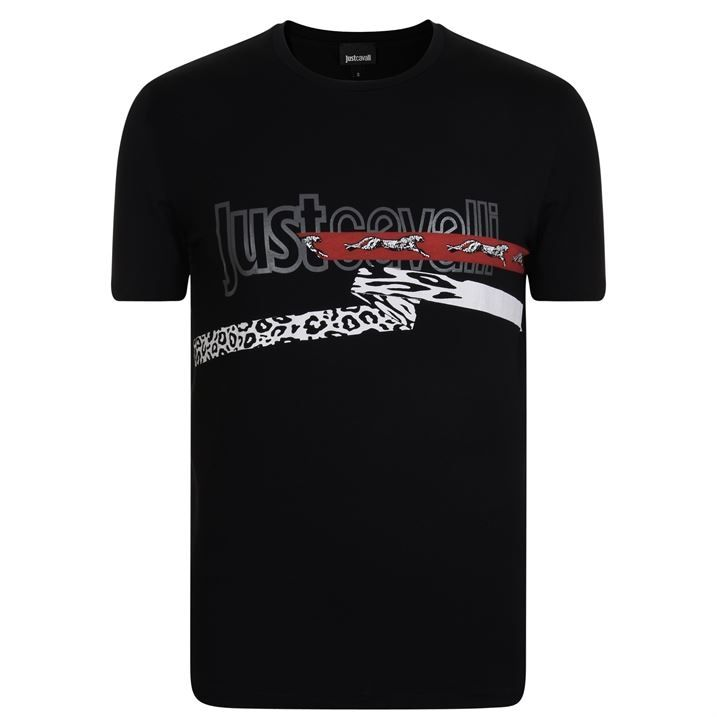 Leopard Tape T Shirt