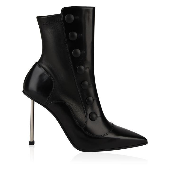 Victorian Needle Heel Boots