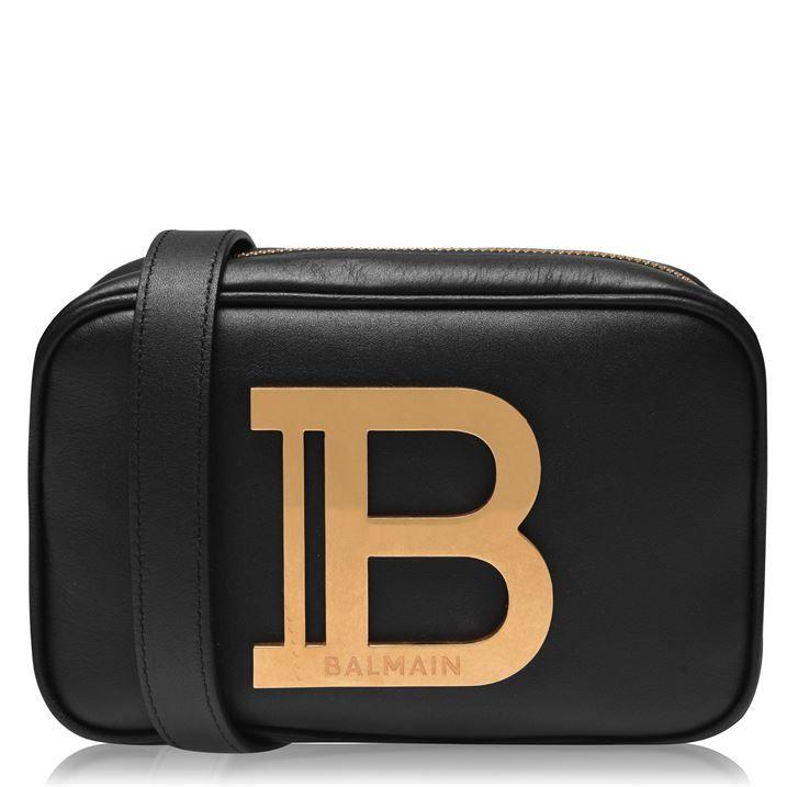 B Logo Camera Bag